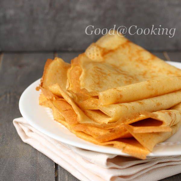 Рецепт безглютеновых блинов с пошаговыми фотографиями | GoodAtCooking