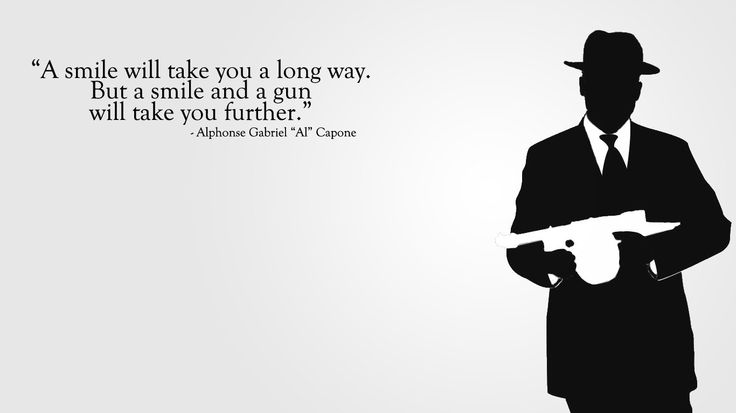 Quotes Al Capone #quotes #wallpapers