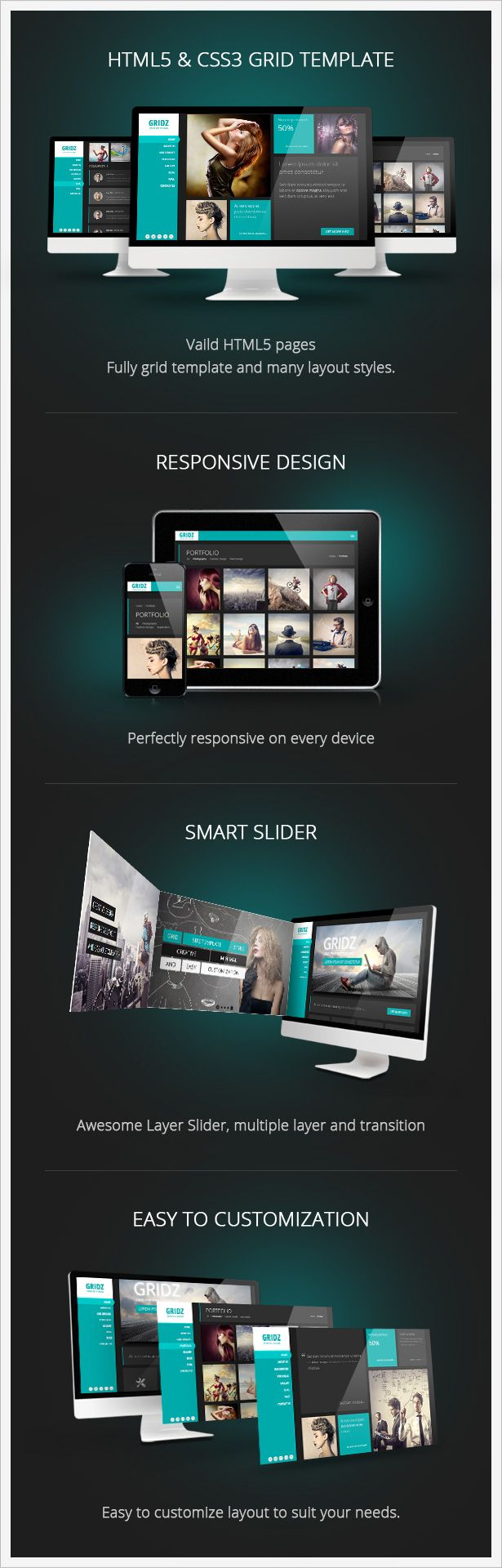 546 best Best Site Templates images on Pinterest | Design web, Role ...
