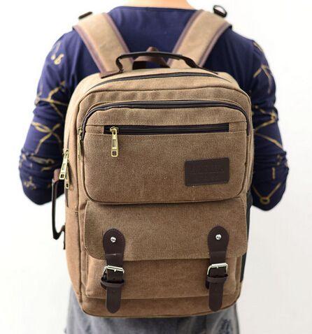 $31.23 (Buy here: https://alitems.com/g/1e8d114494ebda23ff8b16525dc3e8/?i=5&ulp=https%3A%2F%2Fwww.aliexpress.com%2Fitem%2FEuropean-2015-Cool-Camping-Hiking-backpack-canvas-sports-casual-men-backpack-fashion-sports-backpacks-for-men%2F32384927323.html ) European 2016 Cool Camping&Hiking backpack canvas  casual men backpack fashion  backpacks for men women for just $31.23