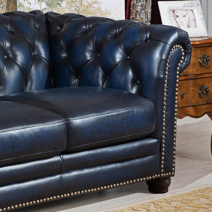 Kraig Leather Chesterfield Sofa Genuine Leather Sofa Leather Chesterfield Sofa Leather Chesterfield