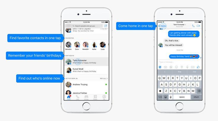 Facebook Messenger Tasarımı Değişiyor!