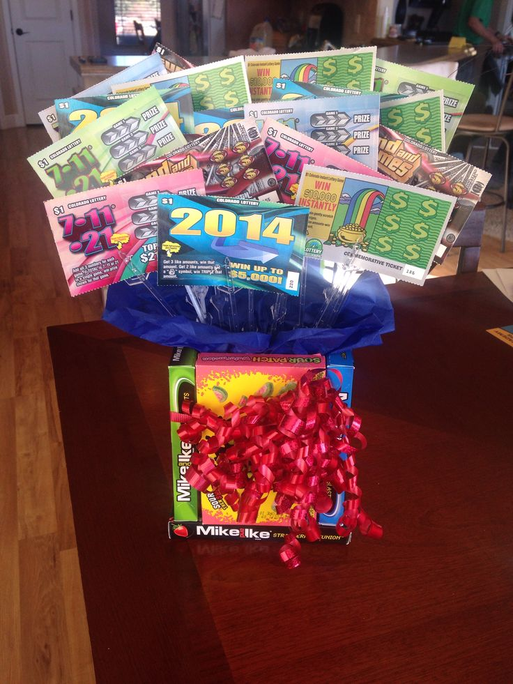 Lottery ticket bouquet | Craft Projects | Pinterest | More ...
