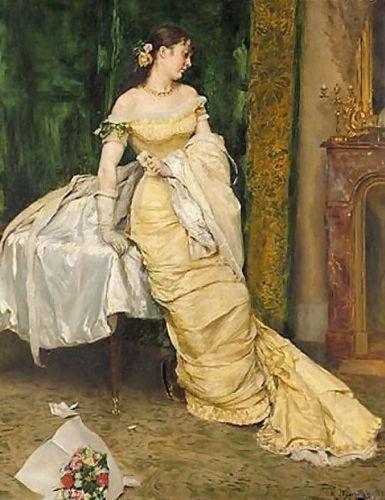 Young Beauty, Rogelio de Egusquiza y Barrena, circa 1879