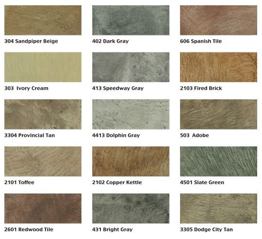 Delightful Mirastain Concrete Colors Table Mountain Concrete Creations  Iu0027ll Probably  Use A Little Sand