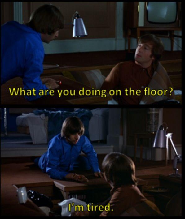 This scene was one of my earliest memories of the Beatles