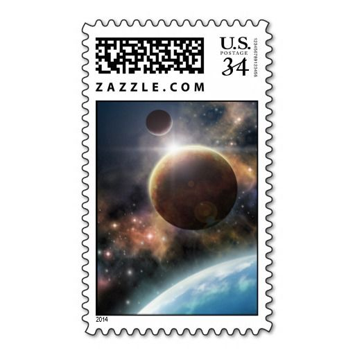 Welcome to the Space Postage Stamps