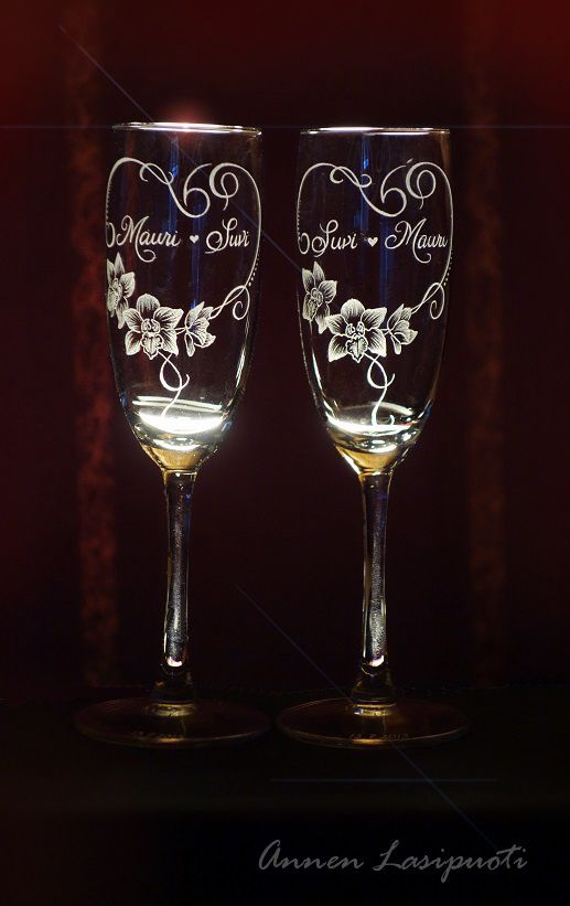 Wedding glasses                                                                                                                                                                                 More