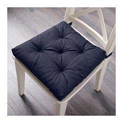 MALINDA Stuhlkissen, blau - 40/35x38x7 cm - IKEA