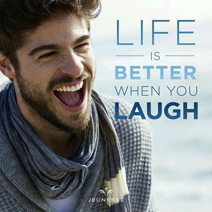 Tertawalah semoga hidupmu lebih baik lebih bahagia.