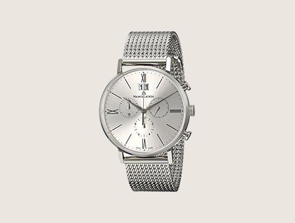 Maurice Lacroix Eliros Analog Display Analog Quartz Silver Nice Watches For Men