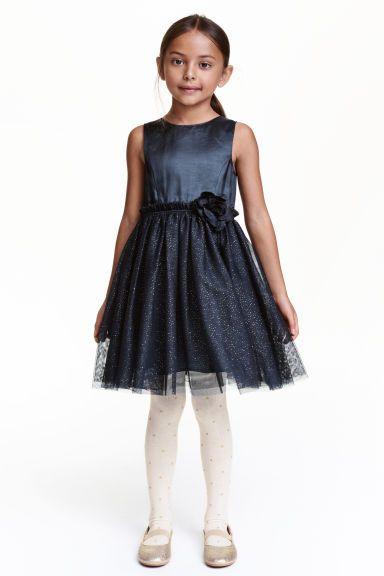 £10 Glittery tulle dress | H&M  http://www2.hm.com/en_gb/productpage.0386708005.html