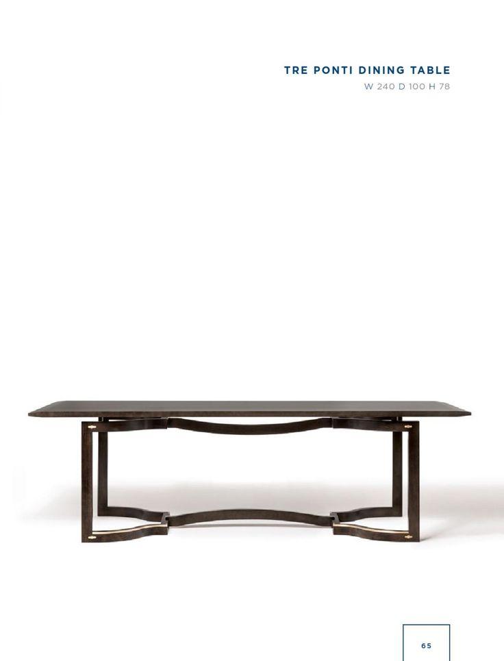 Rubelli Casa - Tre ponti dining table