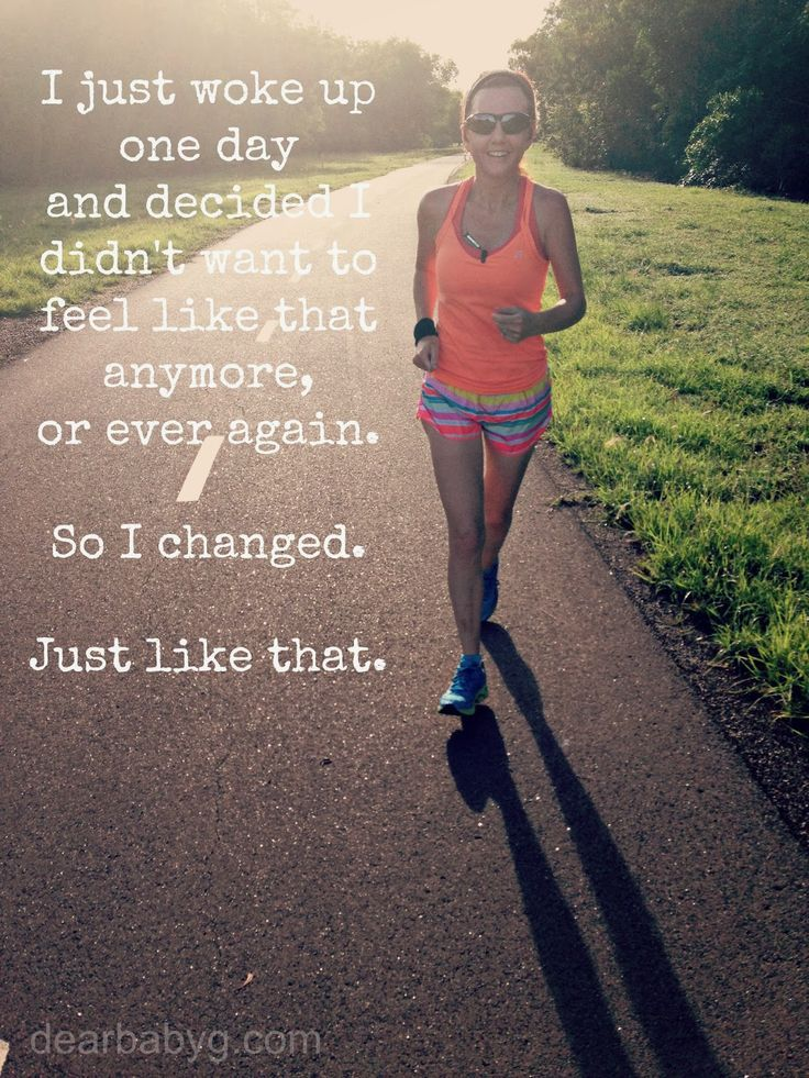 You can change today! Set your #goals and #LoveYourself!