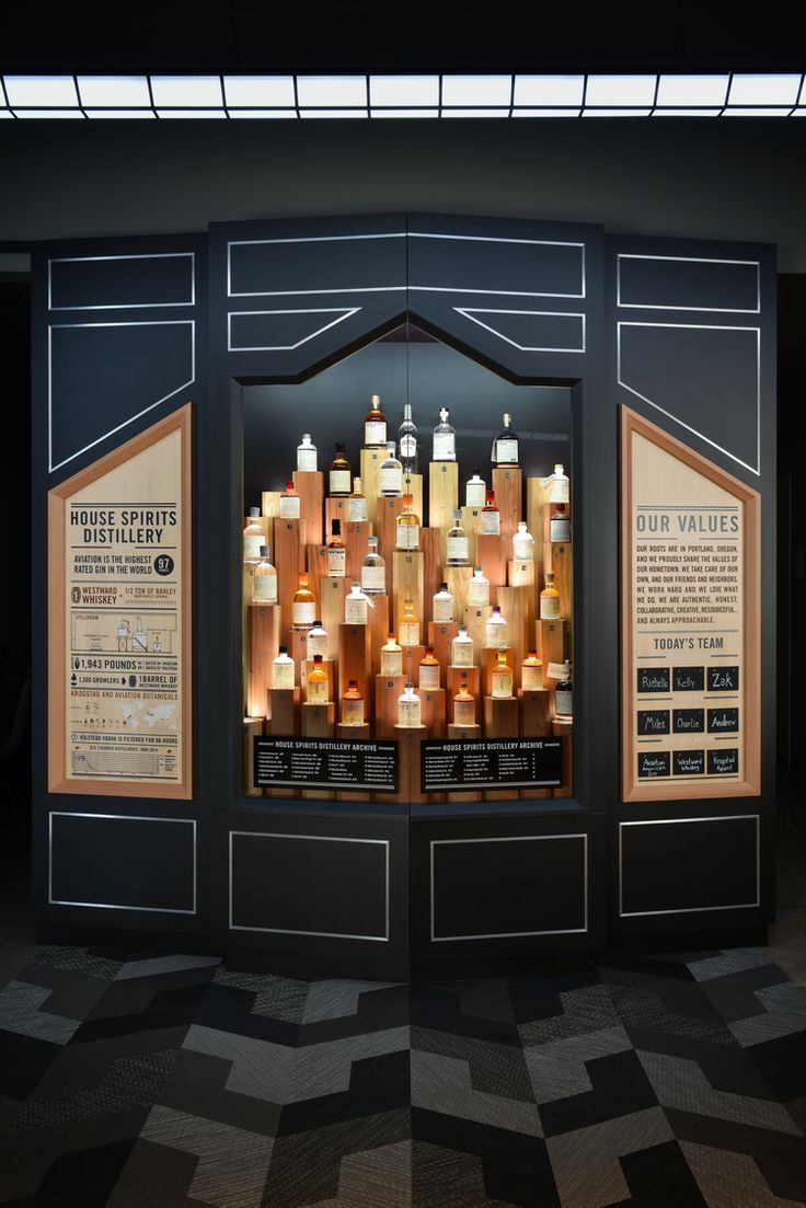 Osmose Studio Designs and ACME Scenic & Display builds tasting room at House Spirits Distillery and HQ in Portland