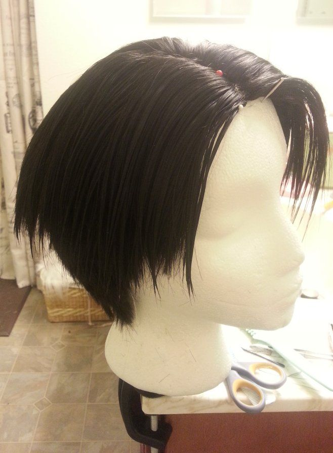 Levi Wig Tutorial For The Undercut Wig Styling
