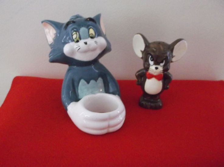 Warner Bros. Studio Store Tom and Jerry  Salt Shaker & Egg Holder  | eBay
