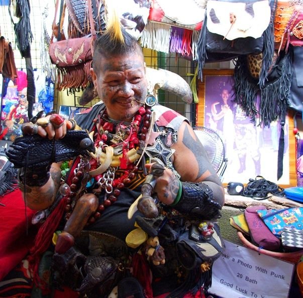 Weird People Photo - Punk Clothing in Thailand | The Travel Tart Blog