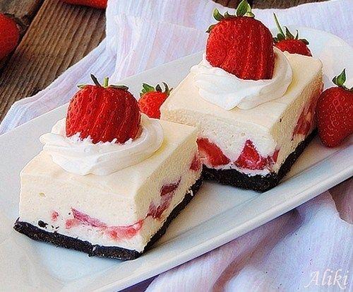 Άσπρος πειρασμός με φράουλες - Daddy-Cool.gr