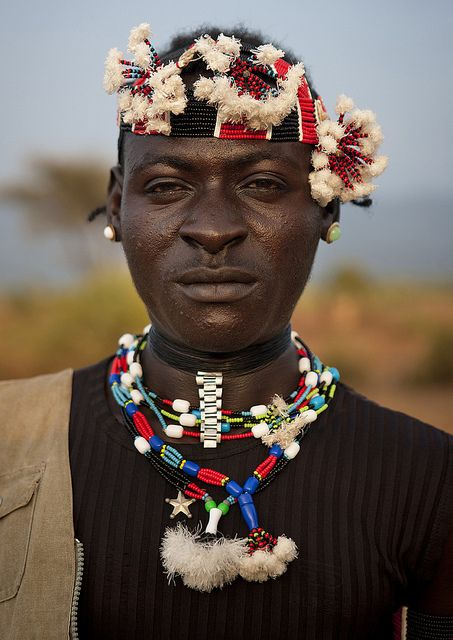 Bana Man Portrait Bull Jumping Ceremony Ethiopia | Flickr - Photo Sharing!