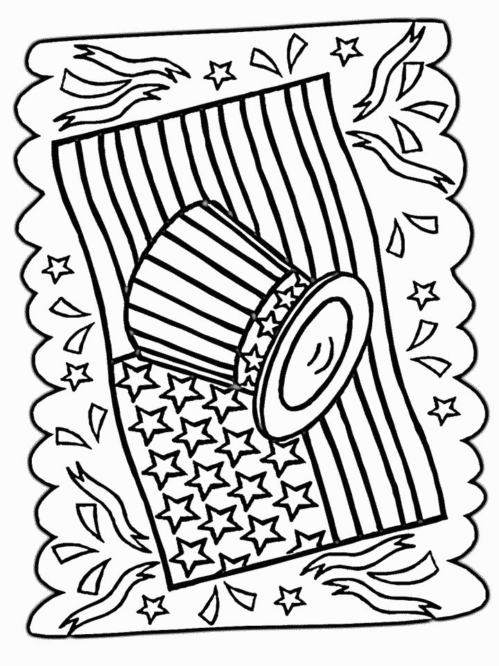 14 best 4th of July drawings images on Pinterest Coloring pages