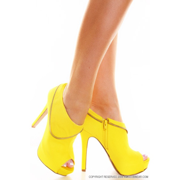 The yellow makes these shoes beautifully unique!