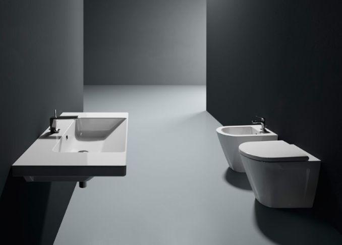 Norm - Collezione di sanitari per il bagno by GSI ceramica