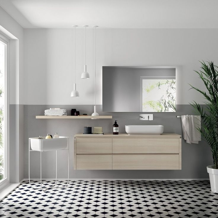 Beautiful Einrichtung Bad Modern Minimalistisch Helle Holzoptik #kitchen #bathroom  #modern #ideas Home Design Ideas