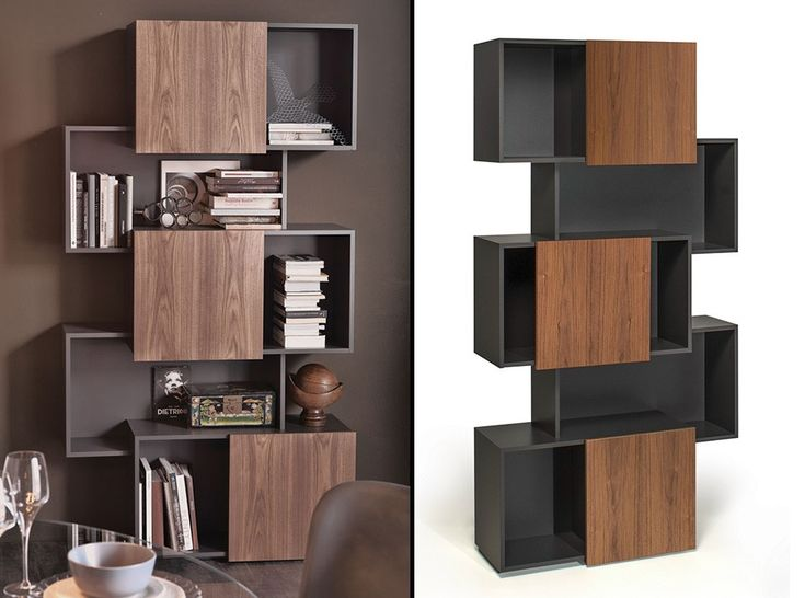 Piquant Modern Bookcase by Cattelan Italia - $2,225.00