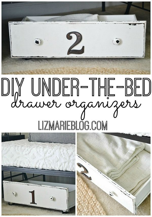 DIY Storage Under Bed