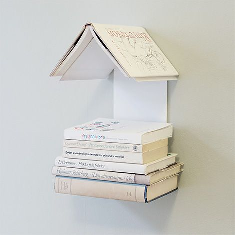 Mini book shelf - for the book's next in line to read and the one you are currently on.