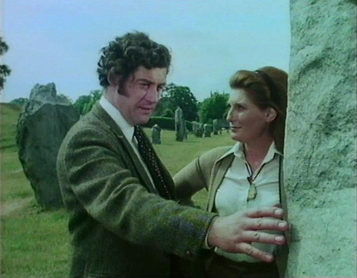 Children of the Stones. Cult TV show from 1977. Scientist Adam Brake and his son Matthew arrive in the sleepy English village of Milbury to find it under the grip of weird psychic powers unleashed by the sinister village squire, Hendrick, and whose power they struggle to break.