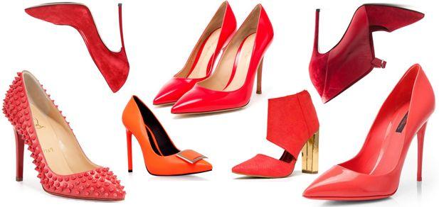 Не знаешь с чем носить красные туфли - мы расскажем
