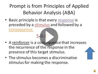 17 best ABA Prompting images on Pinterest Language, School and - what is behavior analysis examples