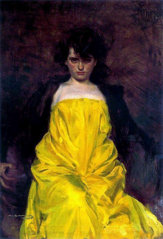 Ramon Casas i Carbó    La Sargantain    1907    Oil on canvas    91 x 63