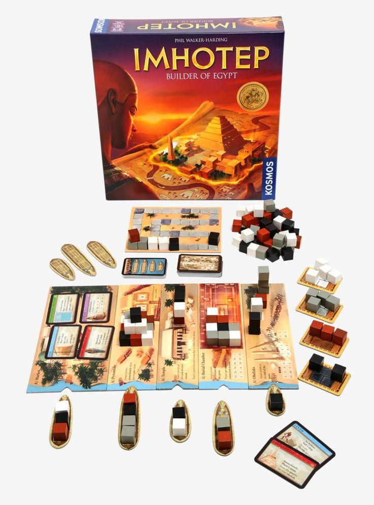 Imhotep builder of egypt board game exploding kittens