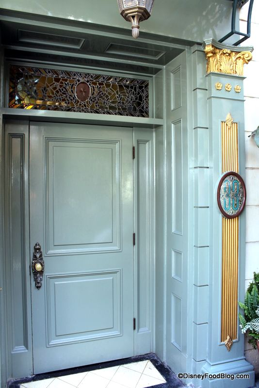 """Officially maintained as a secret feature of Disneyland, the entrance to Club 33 is located next to the Blue Bayou Restaurant at """"33 Royal Street"""" in New Orleans Square."""