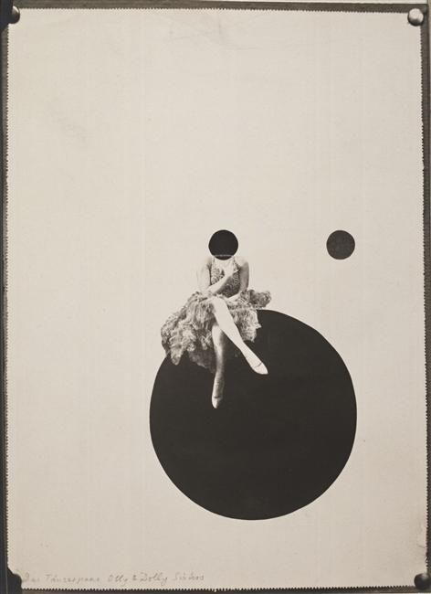 Das Tanzerpaar Olly & Dolly / Les soeurs danseuses Olly et Dolly (Laszlo Moholy-Nagy, 1925)