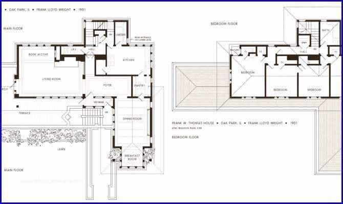 11 Unique Frank Lloyd Wright Usonian House Plans Gallery Usonian House Studio Floor Plans Frank Lloyd Wright Homes