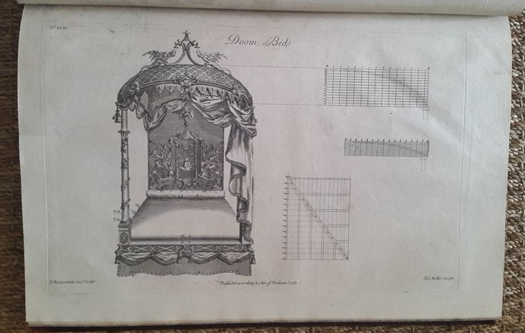 Thomas Chippendale, 129 engraved plates, 1753