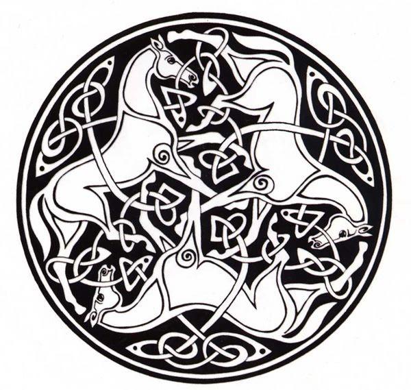 Celtic Animal Symbolism Neat Design Cool Horses