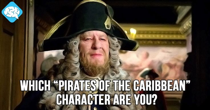 "Which ""Pirates of the Caribbean"" Character Are You? 
