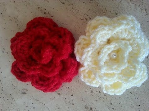 This video will show you how to make this quick and easy beautiful Crochet Rose. You can use this design to adorn your other crochet projects: crochet hats, ...