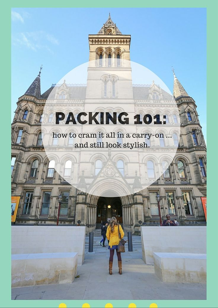 Packing 101: How to Fit it All in a Carry-On...and Still Look Stylish. When I travel in groups, my companions are always in awe of the number of ensembles I manage to fit into a standard-sized carry-on. So when Lyst asked me to share the few key pieces that I never travel without, I was more than happy to divulge my secrets to packing light (while still looking cute). | Camels and Chocolate
