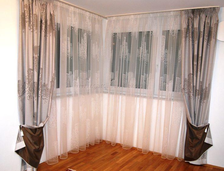 239 besten Unsere Arbeiten Bilder auf Pinterest Vorhänge - gardinen modern wohnzimmer schwarz weis