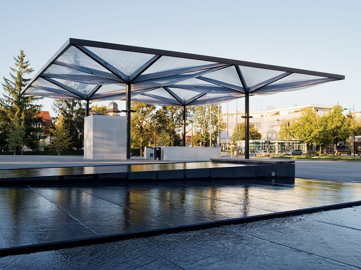 Community center, Unterföhring – pneumatic ETFE roof - {{page::rootPageTitle}}…