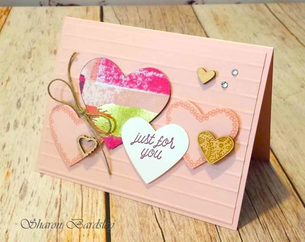 74 best Stampin up Valentines hearts 2018 Occ images on Pinterest