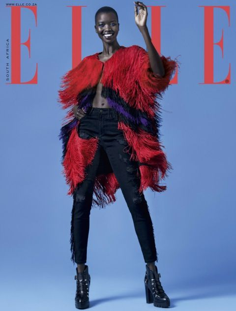 ELLE Magazine SA is putting you in the editor's seat! Caption the cover and #WIN it on the May issue. Love!