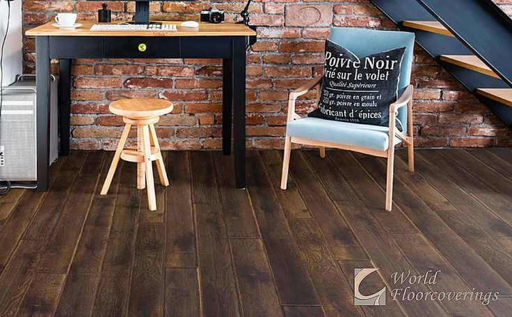 This stunning laminate flooring has a water resistant core to seal out moisture which makes it suitable for any room in your home! [Featured: Ash x Richmond Laminate]