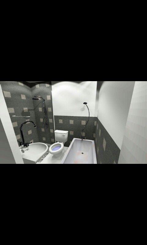 Mixed Use Building (Bathroom Interior)